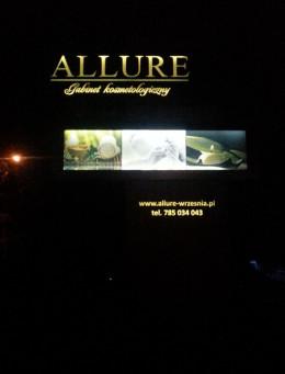 Pylon Allure nocą