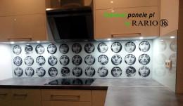 Panel szklany - Fornasetti