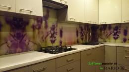 Szkło do kuchni - lawenda