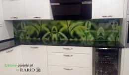 Szkło do kuchni - trawa